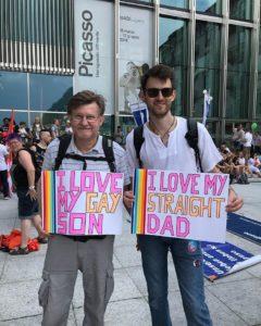Parents croyants d'enfants LGBTI
