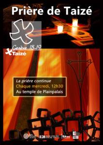 Prière oecuménique de Taizé